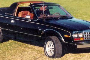 AMC Eagle Sundancer, um conceito diferente de automóvel