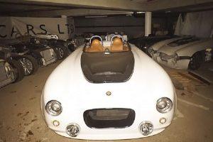 Protótipos da Bristol encontrados num edifício abandonado