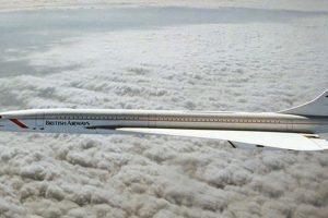 Snapshot: O Concorde a voar a uma velocidade supersónica