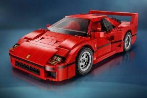 O icónico Ferrari F40 recriado em LEGO