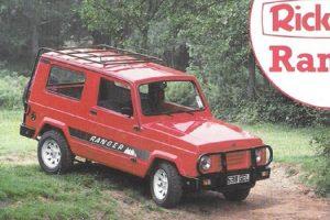 Rickman Ranger, um automóvel inspirado no Suzuki Samurai