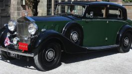 O Rolls-Royce Phantom III utilizado pelo General Montgomery na II Guerra Mundial