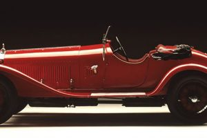 Protagonista da sua época, o icónico Alfa Romeo 6C 1750 antecipa o futuro