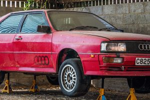 Audi Quattro encontrado numa quinta vai a leilão
