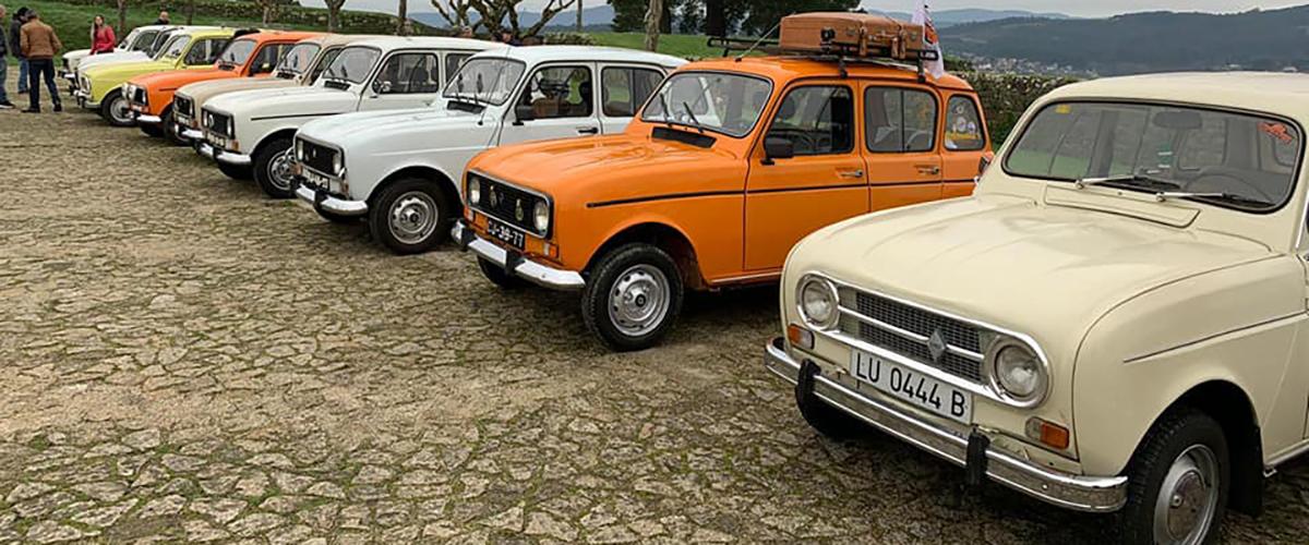 Caramulo Motorfestival recebe 6º Encontro Internacional dos Renault 4L