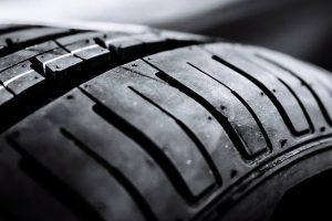 A perspectiva do mundo dentro de um pneu