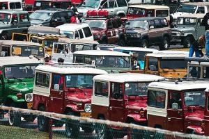 Os clássicos Toyota no maior encontro da marca até hoje