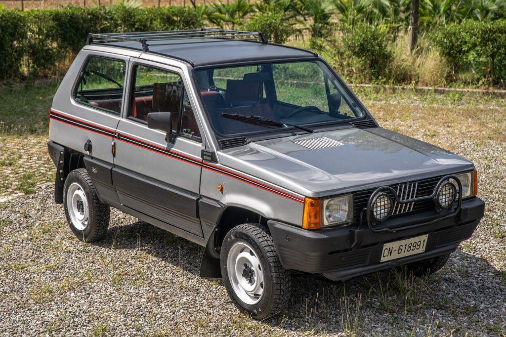 Jornal Dos Classicos Fiat Panda 4x4 O Todo O Terreno Alpino