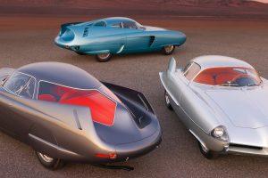Os icónicos Alfa Romeo B.A.T. vão a leilão num único lote
