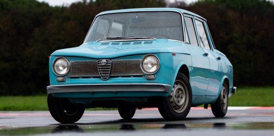 Alfa Romeo Tipo 103, o protótipo do que seria o primeiro modelo de tracção frontal da marca