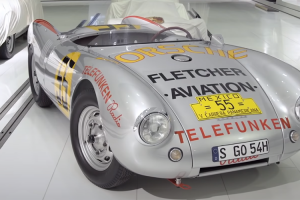 """Porsche 550 Spyder: O """"carro de James Dean"""""""