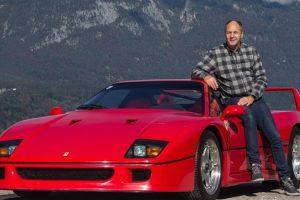 Vai a leilão o Ferrari F40 que pertence ao antigo piloto de Fórmula 1 Gerhard Berger