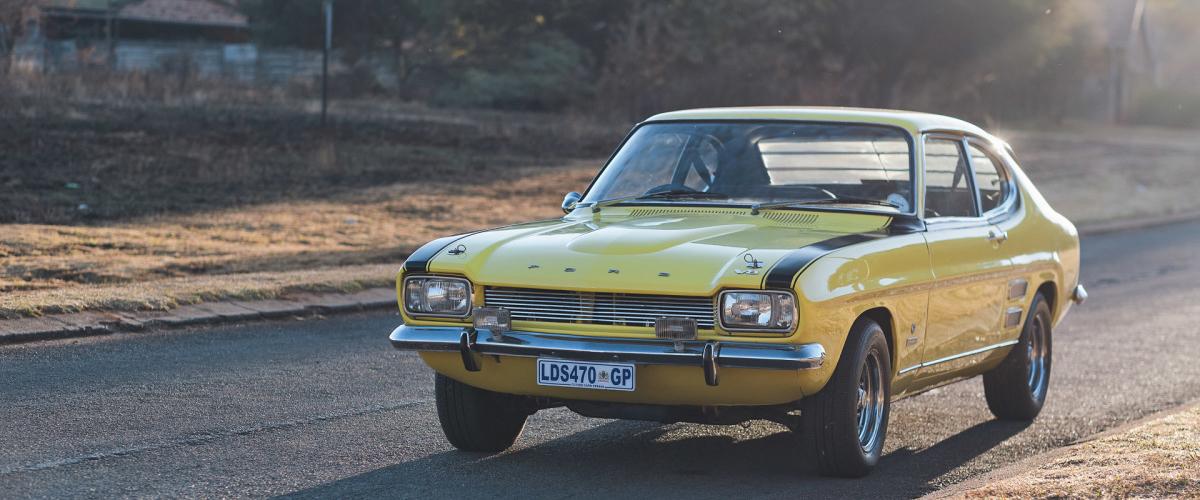 Perana: o Ford Capri com poder V8