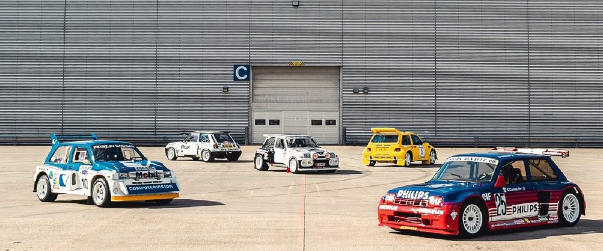 Silverstone Auctions leva a leilão colecção de cinco automóveis da era do Grupo B
