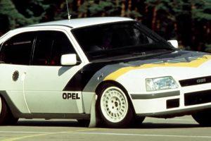 Opel Kadett Rallye 4S: A Opel no Grupo B