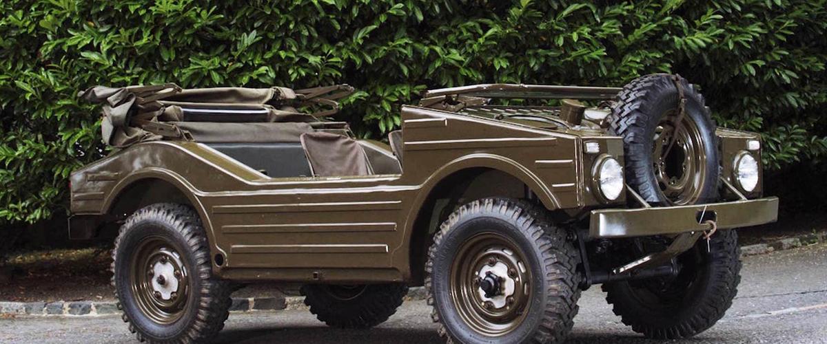 597 Jagdwagen, um Porsche anfíbio