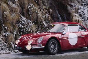 Renault-Alpine A110 1600S: Elegante, Feroz, Francês