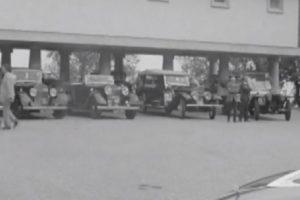 A caravana de Rolls-Royce ingleses que visitou o Caramulo em 1973