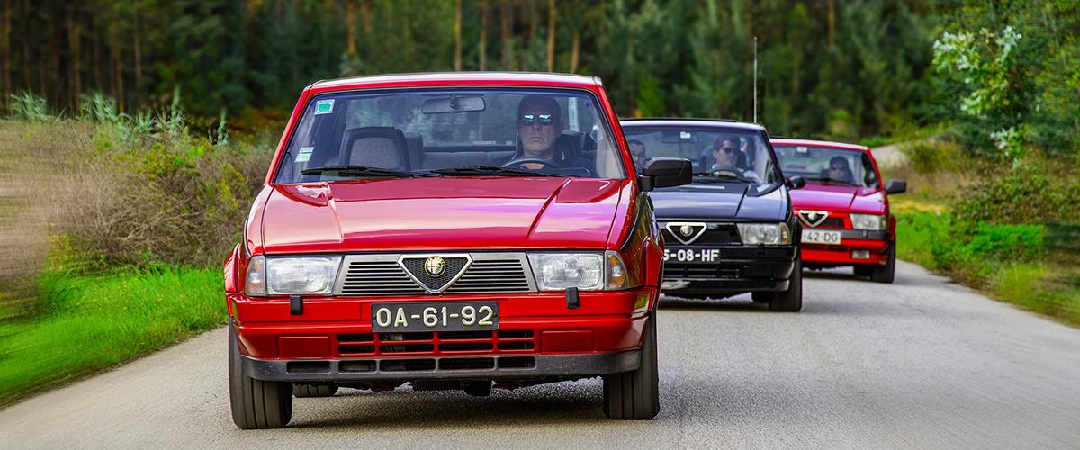 Alfa Romeo 75 em destaque na Topos & Clássicos