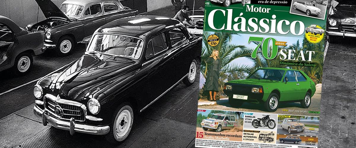 70 Anos da Seat em destaque na revista Motor Clássico