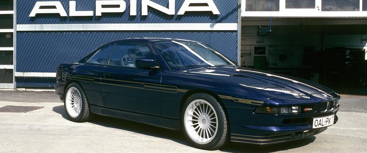 Alpina B12 Coupe, o GT de grandes prestações com base no BMW Série 8
