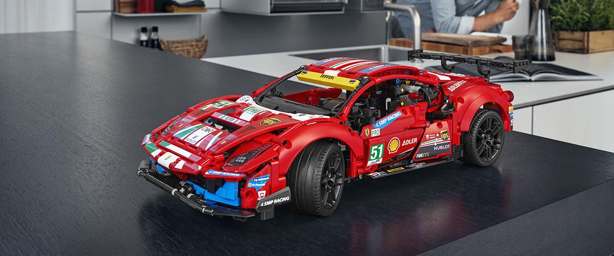 "O mundo das corridas de resistência: Novo LEGO Technic Ferrari 488 GTE ""AF Corse #51"""