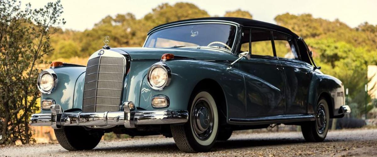 O Mercedes-Benz 300 D Cabriolet de Ella Fitzgerald está à venda
