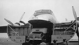 Silver City Airways, a transportadora aérea britânica de automóveis