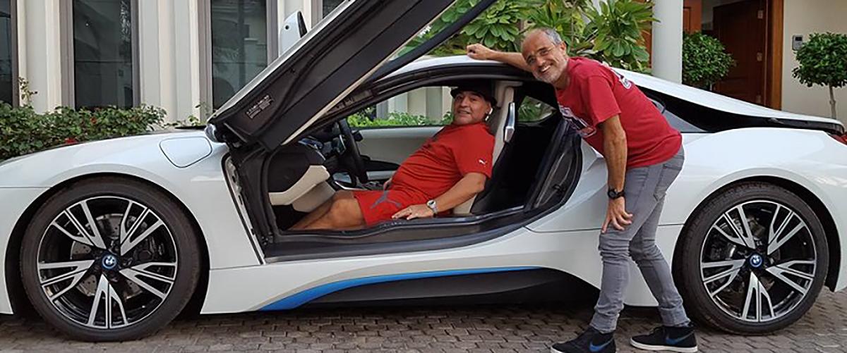 Os automóveis que passaram pela vida de Diego Maradona