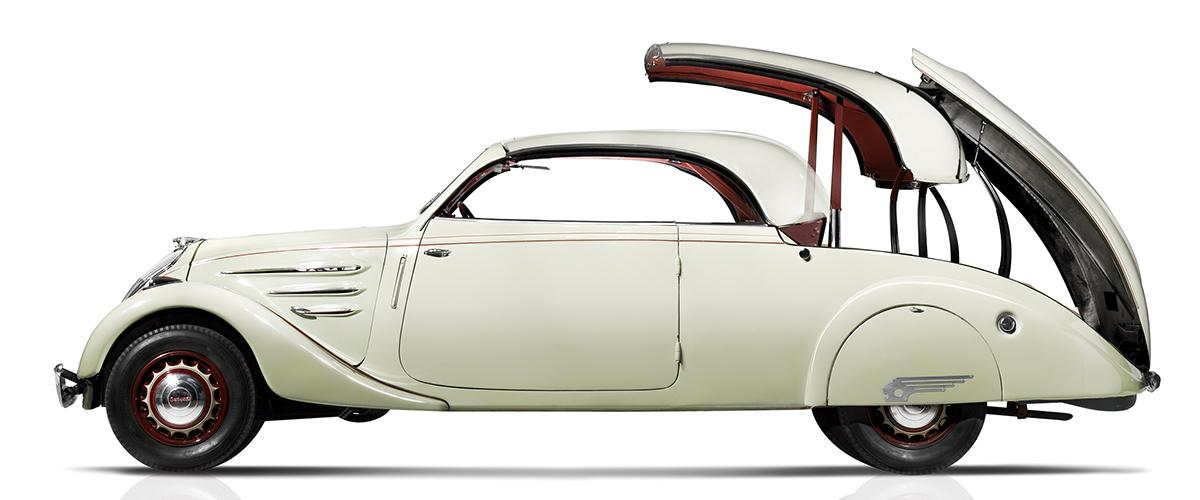 Peugeot Eclipse: O coupé-cabriolet dos anos 30