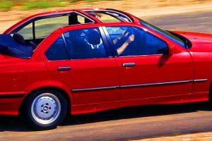 BMW Serie 3 Baur TC4, o raro descapotável de quatro portas