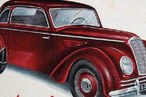 DKW F10, o primeiro modelo da marca produzido no pós-guerra