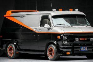 Uma das originais GMC Ventura utilizadas pela A-Team vai a leilão