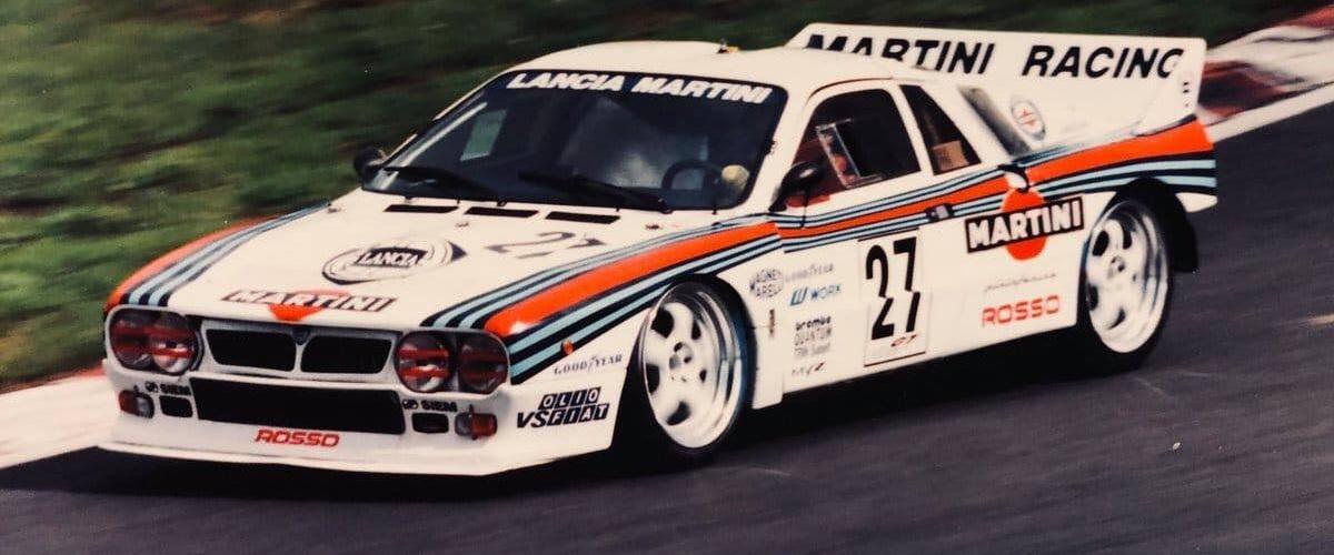 O Lancia 037 que entrou no campeonato japonês de GT's em 1994