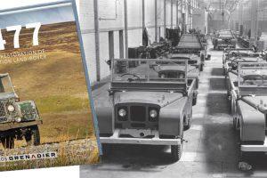 Livro sobre o primeiro Land Rover de produção chega às bancas