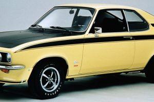 Opel Turbo Manta, a rara versão do icónico coupé alemão