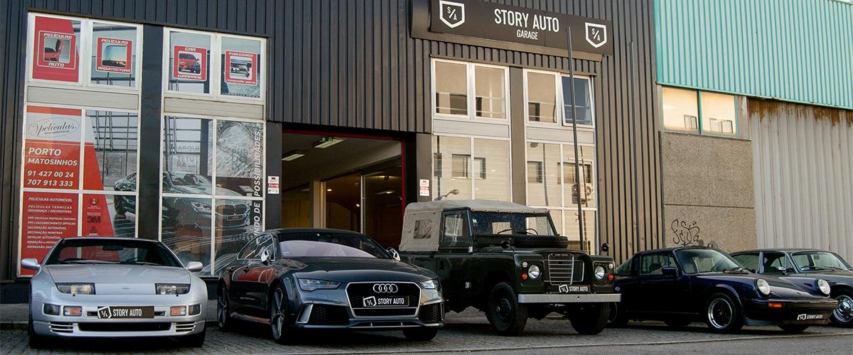 Story Auto, um serviço de exclusividade