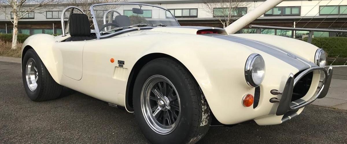Primeiro exemplar do Cobra 378 Superblower foi produzido pela AC Cars