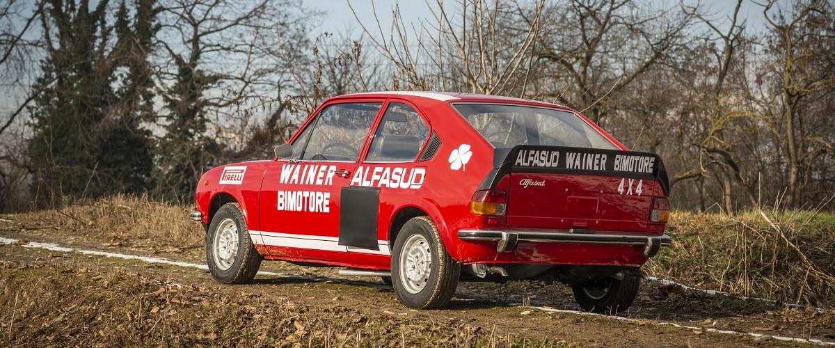 Exemplar único do Alfa Romeo Alfasud TI Bimotore 4x4 vai a leilão