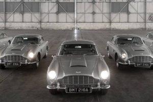 Aston Martin completa produção dos DB5 Goldfinger Continuation Series