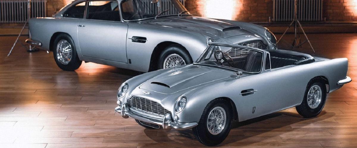 Aston Martin DB5 Junior, requinte de um automóvel clássico para pequenos e graúdos