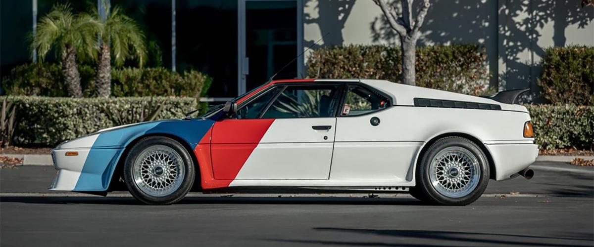 BMW M1 que pertenceu a Paul Walker vai a leilão
