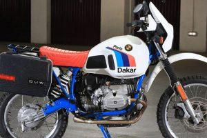 Rara BMW R80 G/S Paris-Dakar vai a leilão