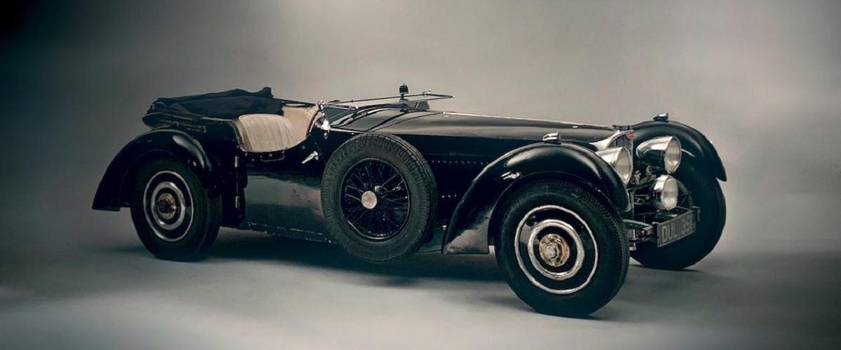 Bugatti Type 57 que esteve guardado durante mais de 50 anos vai a leilão