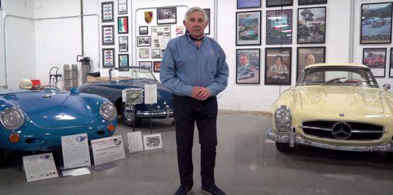 A extraordinária colecção de automóveis europeus de Don Murray