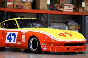 O primeiro Datsun 240Z em território norte americano competiu no IMSA GTU