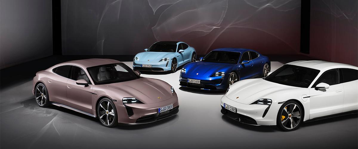 Porsche alarga gama Taycan