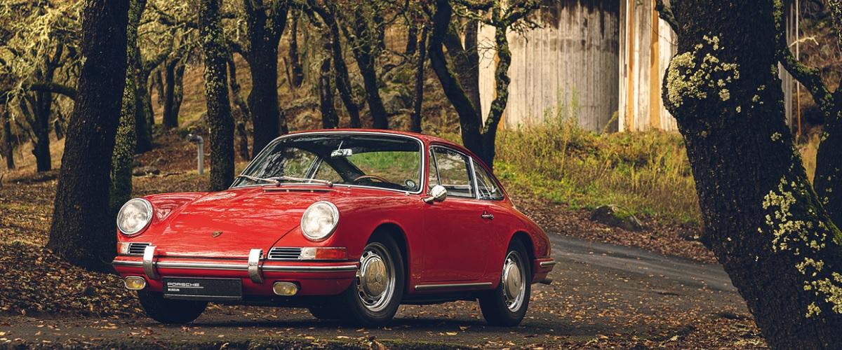 O último Porsche 901 produzido, de barnfind a peça de museu