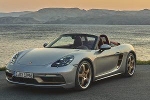 Porsche celebra o 25º aniversário do Boxster com edição limitada
