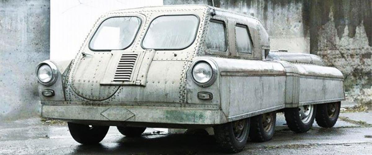 Argo, o raro veículo soviético com oito rodas